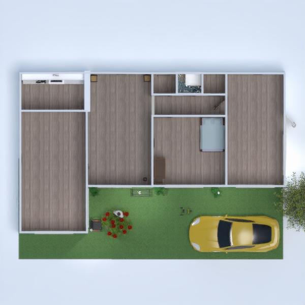 floorplans wohnung haus terrasse mobiliar kinderzimmer 3d