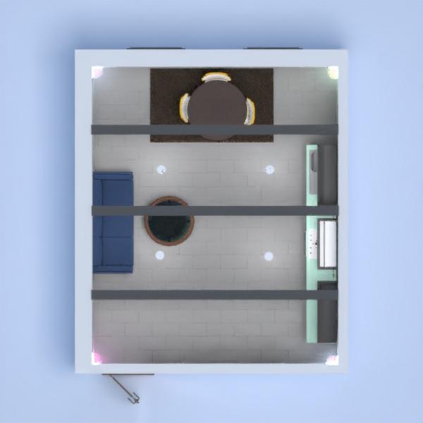 floorplans living room kitchen dining room 3d