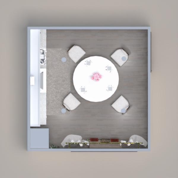 floorplans meubles salle à manger 3d