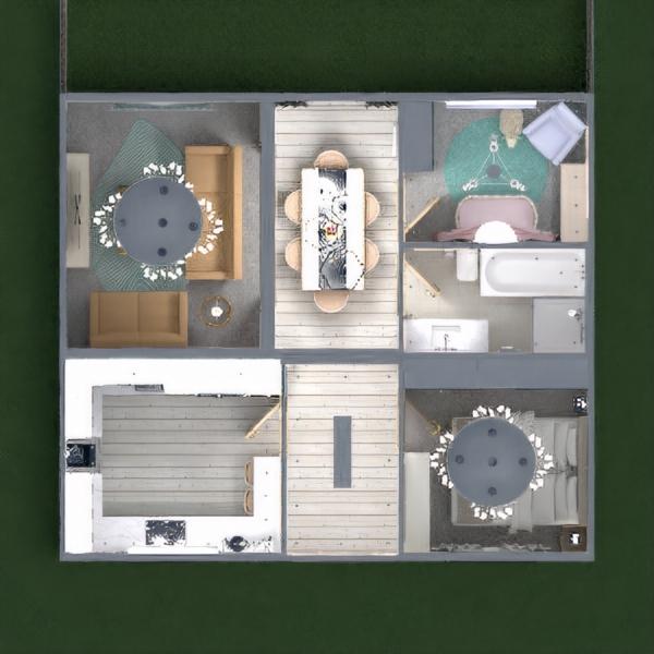 floorplans dom oświetlenie 3d