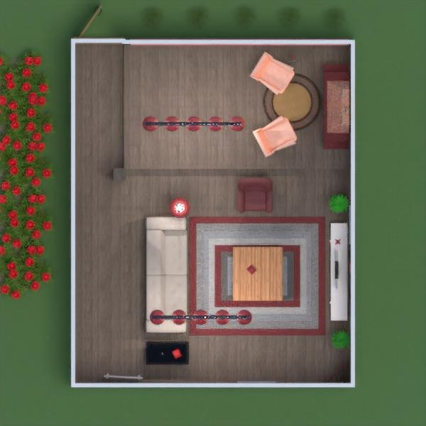 floorplans butas namas baldai dekoras miegamasis vaikų kambarys apšvietimas 3d