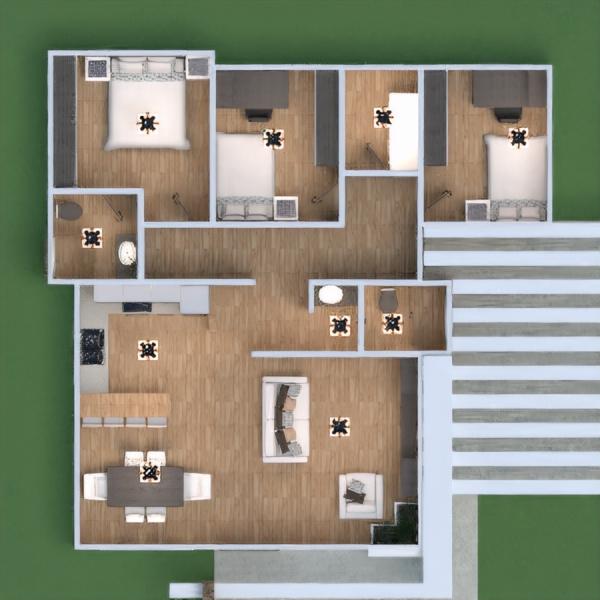floorplans house furniture bathroom bedroom living room kitchen renovation dining room 3d
