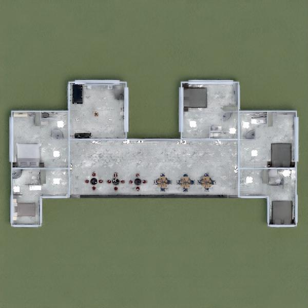 floorplans casa mobílias 3d