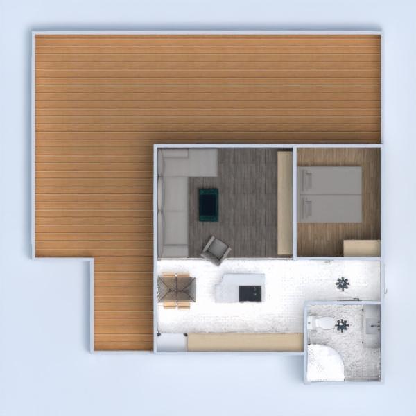 floorplans apartamento varanda inferior quarto cozinha 3d