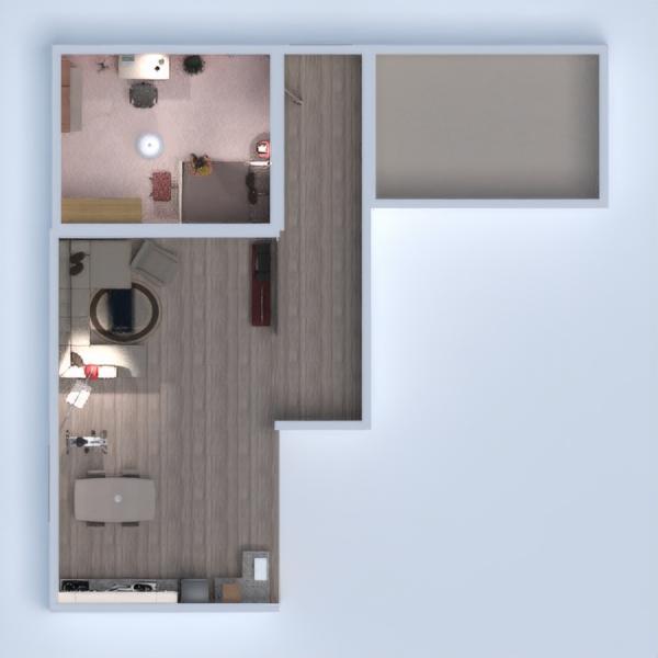 floorplans house furniture bedroom living room kitchen 3d