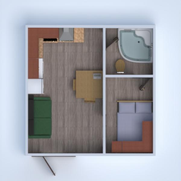 floorplans butas kavinė аrchitektūra studija 3d
