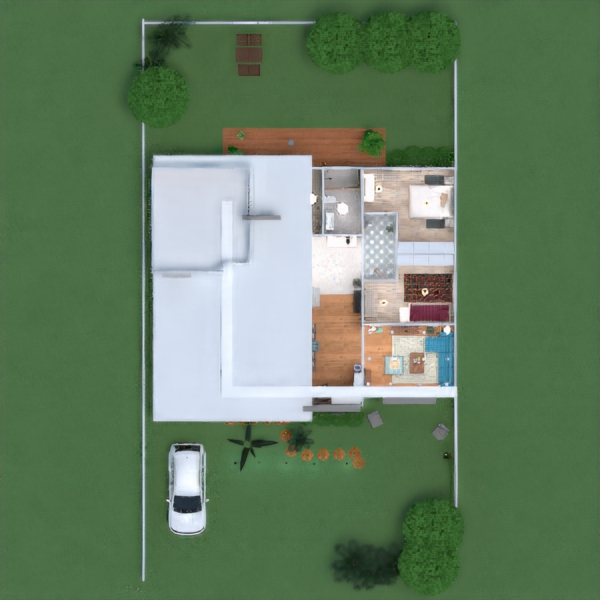 floorplans haus dekor landschaft 3d