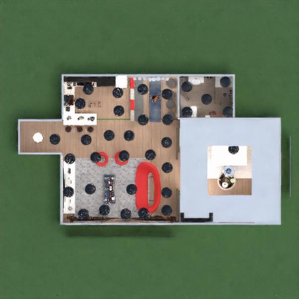 floorplans apartment decor living room kitchen architecture 3d