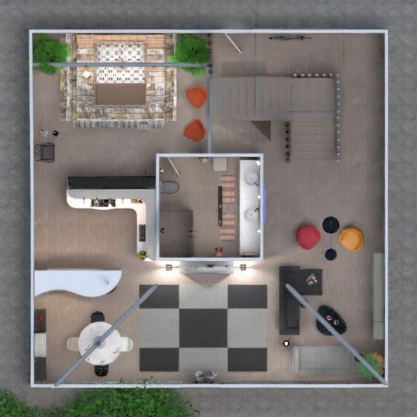 floorplans apartment furniture renovation architecture 3d
