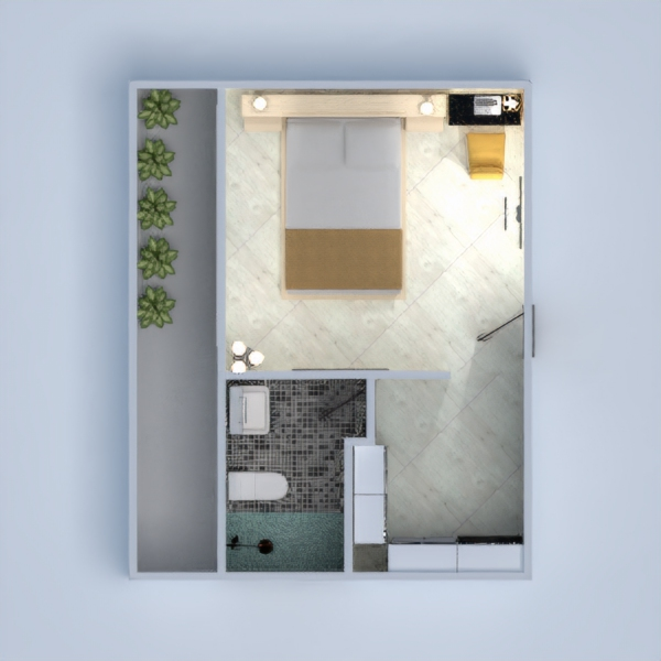 floorplans apartment bathroom bedroom 3d