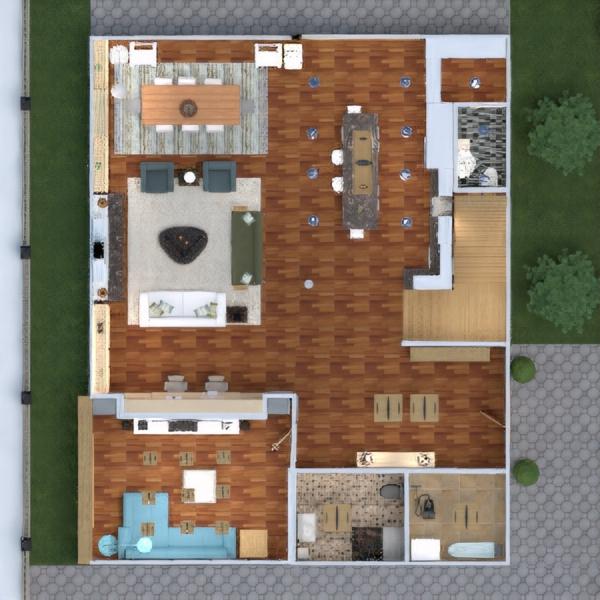 floorplans dom taras meble wystrój wnętrz zrób to sam łazienka sypialnia pokój dzienny kuchnia na zewnątrz pokój diecięcy biuro oświetlenie gospodarstwo domowe jadalnia architektura przechowywanie wejście 3d