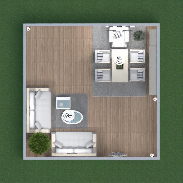 floorplans sala de jantar 3d
