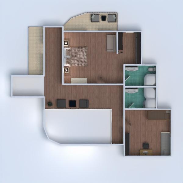 floorplans namas baldai dekoras vonia miegamasis svetainė virtuvė valgomasis аrchitektūra 3d