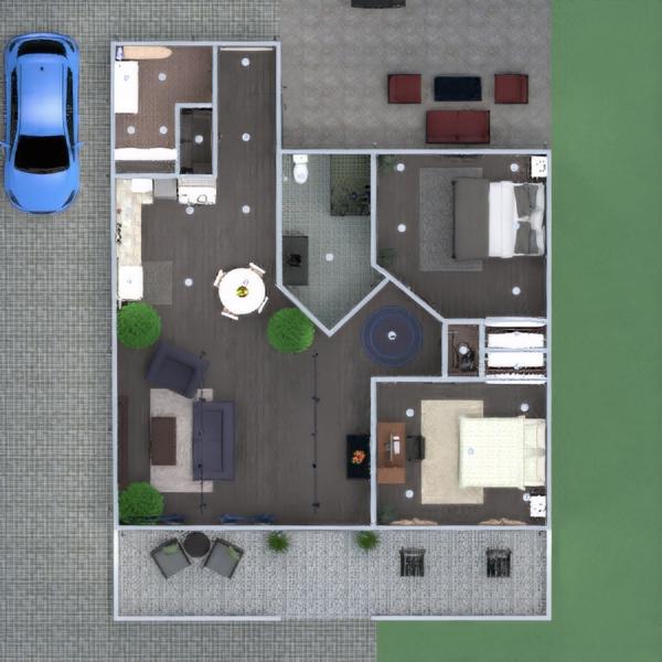 floorplans дом мебель ванная спальня гостиная кухня 3d