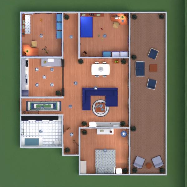 floorplans квартира декор ванная спальня гостиная кухня детская 3d