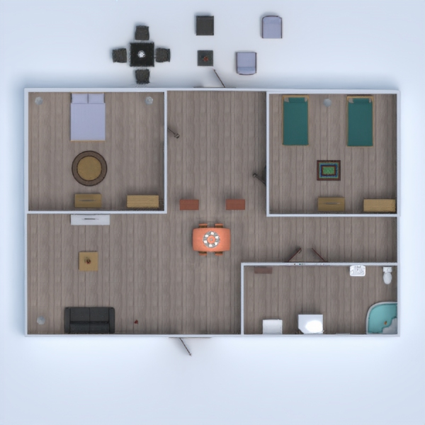 floorplans haus 3d