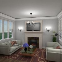 floorplans baldai dekoras vonia svetainė virtuvė valgomasis аrchitektūra 3d