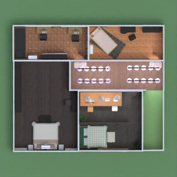 floorplans butas namas terasa baldai dekoras pasidaryk pats 3d
