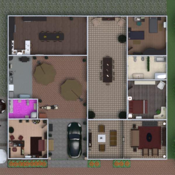 floorplans meble zrób to sam garaż biuro krajobraz architektura wejście 3d
