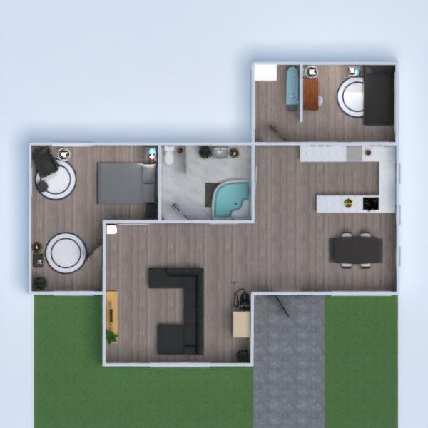 floorplans casa arredamento decorazioni bagno camera da letto saggiorno cucina rinnovo famiglia ripostiglio monolocale 3d