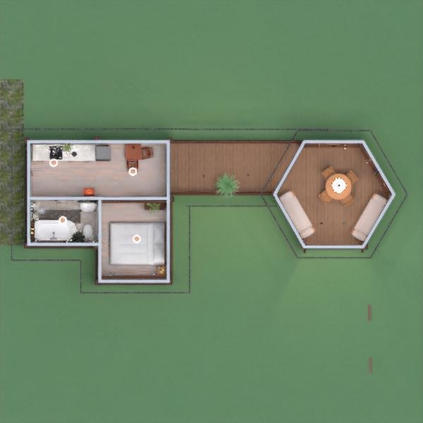 floorplans casa esterno paesaggio architettura 3d