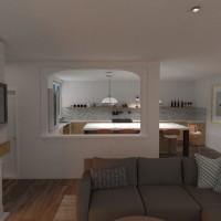 floorplans apartment kitchen architecture 3d