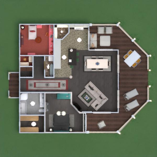floorplans haus terrasse mobiliar dekor do-it-yourself badezimmer schlafzimmer küche outdoor kinderzimmer beleuchtung architektur lagerraum, abstellraum 3d