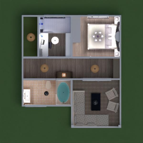floorplans casa terraza muebles decoración cuarto de baño dormitorio salón garaje cocina exterior habitación infantil reforma hogar comedor arquitectura trastero descansillo 3d