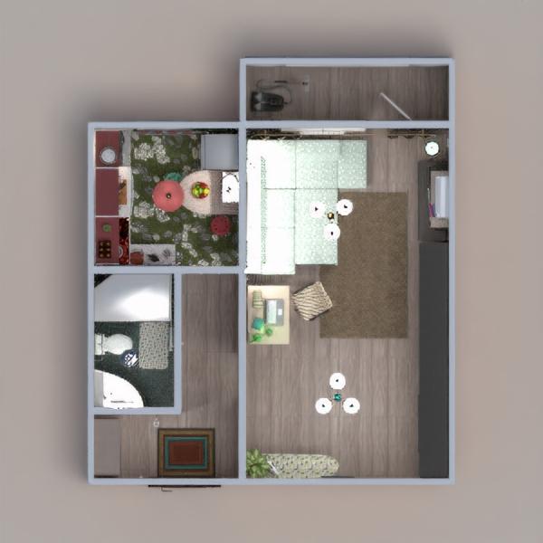 floorplans apartamento decoración bricolaje 3d