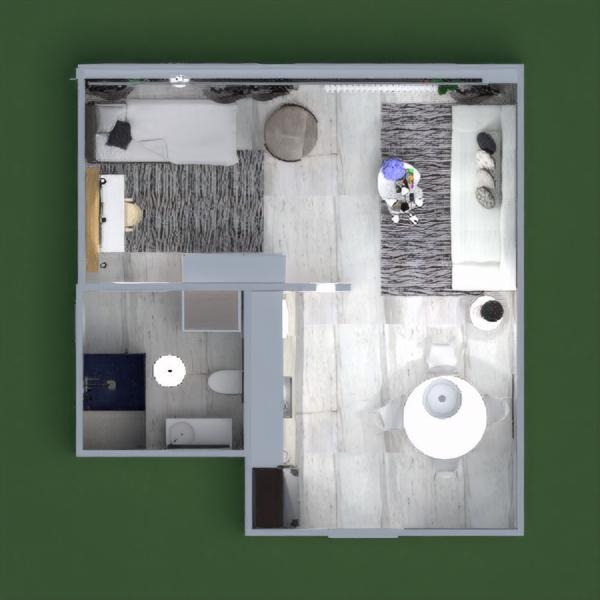 floorplans wohnung dekor küche beleuchtung architektur studio 3d