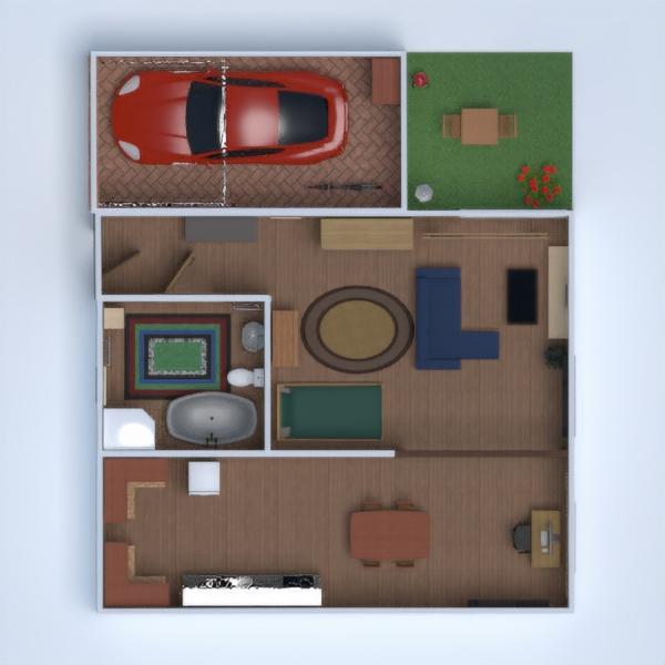 floorplans apartment outdoor 3d