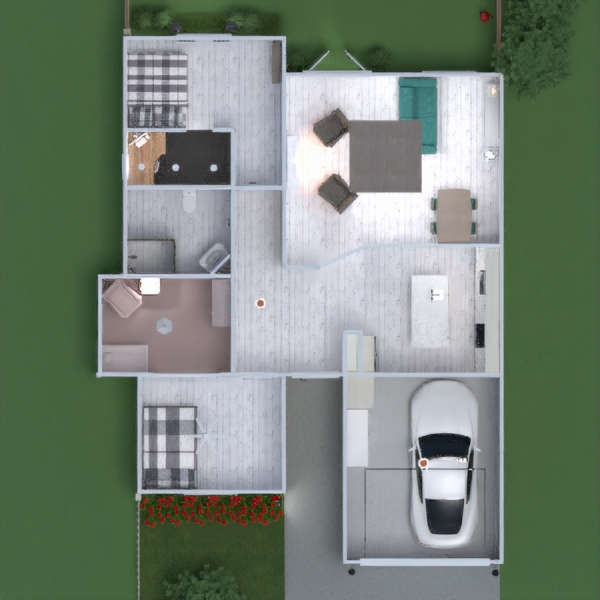 floorplans casa dormitorio salón garaje cocina exterior habitación infantil despacho iluminación reforma comedor trastero 3d