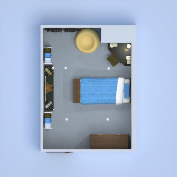 floorplans wohnung haus dekor kinderzimmer 3d