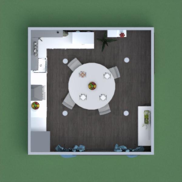 floorplans maison décoration cuisine eclairage salle à manger 3d