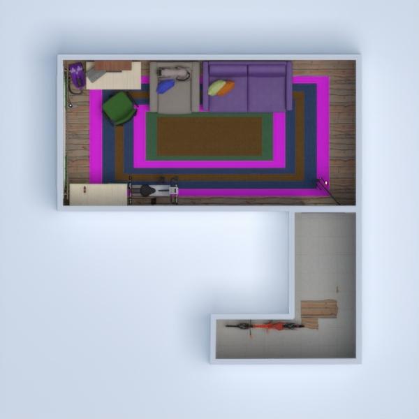 floorplans apartamento mobílias decoração faça você mesmo utensílios domésticos 3d