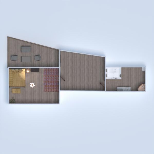 floorplans dom na zewnątrz oświetlenie architektura 3d