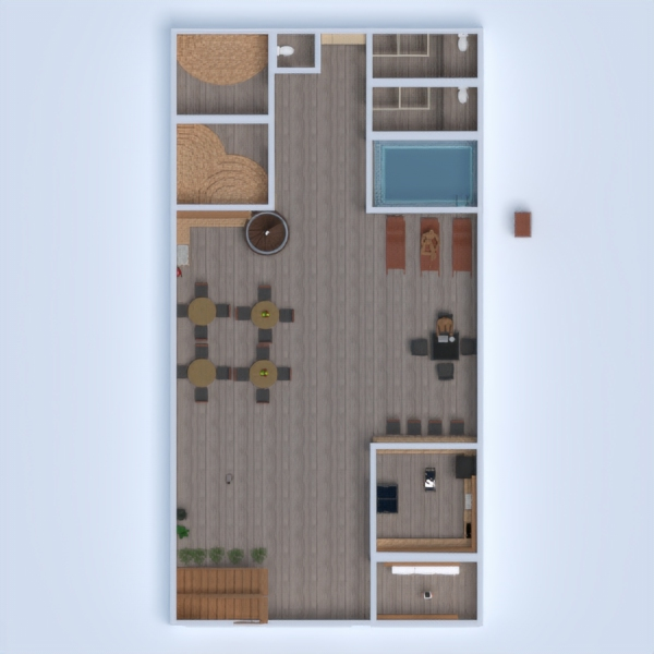 floorplans mobiliar outdoor 3d