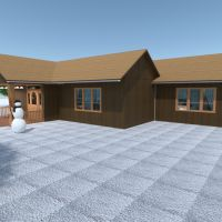 floorplans casa varanda inferior mobílias casa de banho dormitório quarto área externa reforma arquitetura patamar 3d