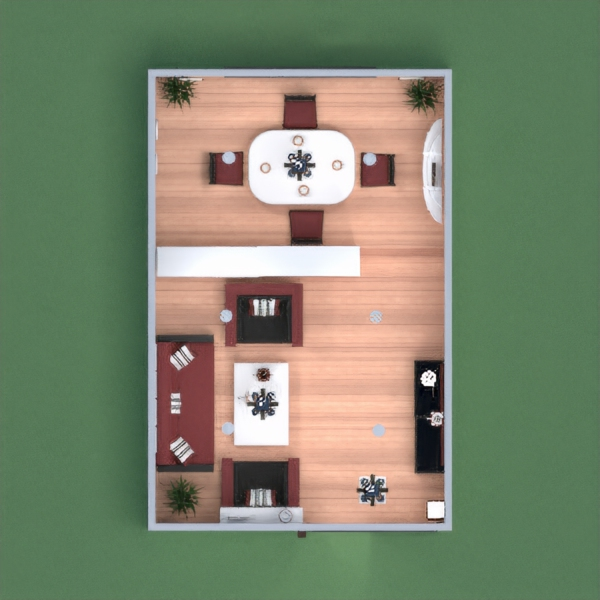 floorplans house living room lighting studio entryway 3d