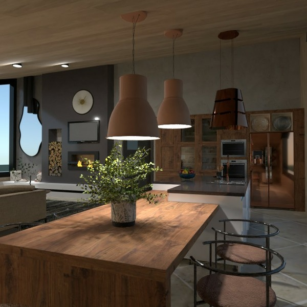 floorplans 独栋别墅 家具 装饰 户外 3d