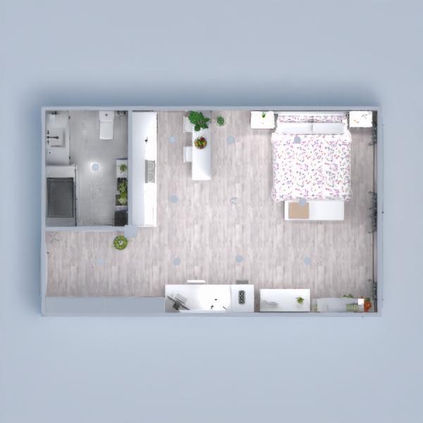 floorplans apartment bedroom kitchen household studio 3d
