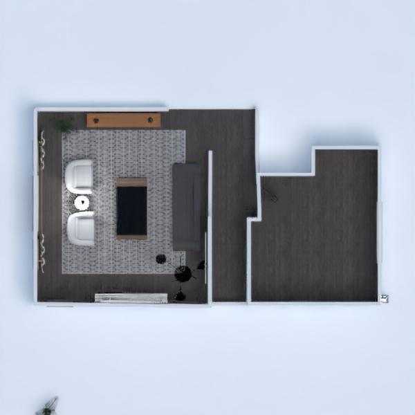 floorplans casa mobílias quarto 3d