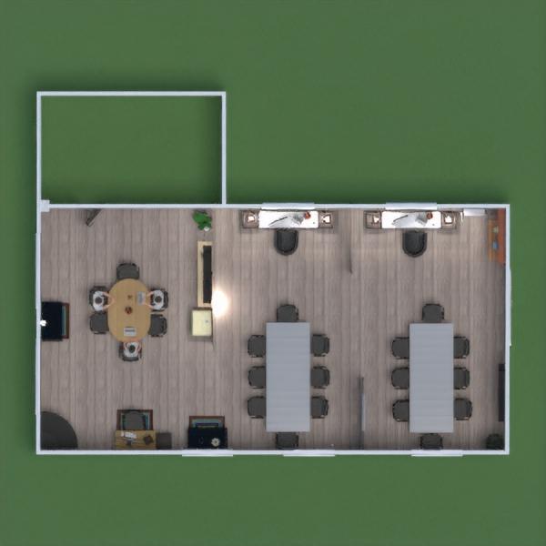 floorplans biuras аrchitektūra 3d