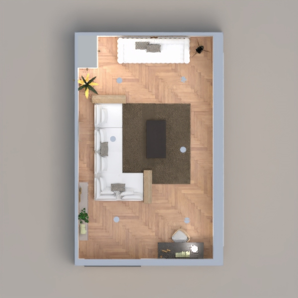 floorplans apartment furniture living room lighting 3d