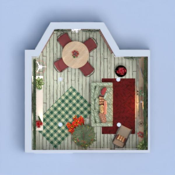 floorplans house furniture decor living room dining room 3d