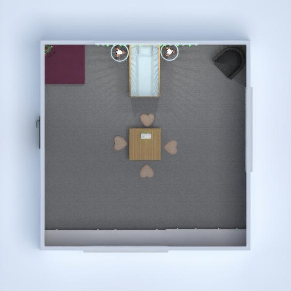 floorplans meble sypialnia pokój diecięcy oświetlenie przechowywanie 3d