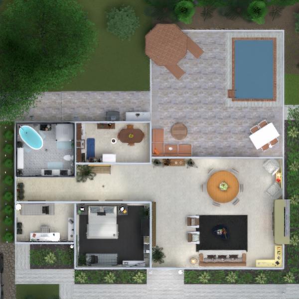 floorplans dom taras meble wystrój wnętrz zrób to sam łazienka pokój dzienny kuchnia biuro oświetlenie remont krajobraz gospodarstwo domowe jadalnia architektura wejście 3d