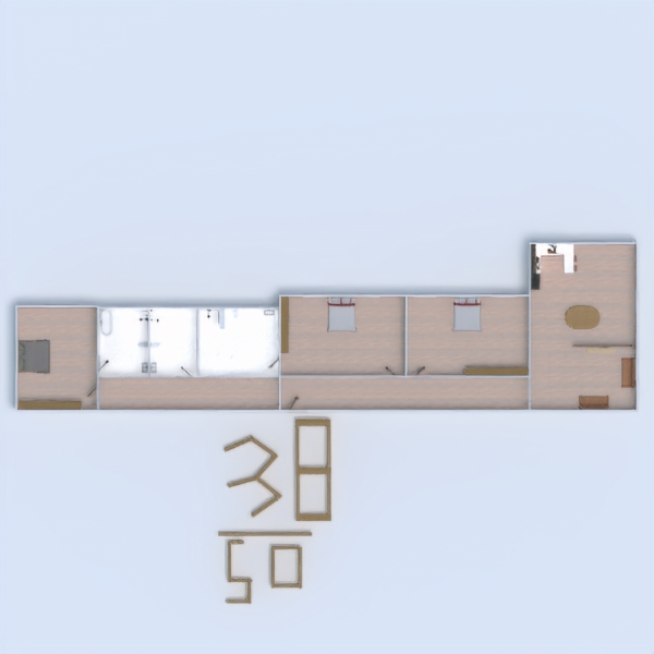 floorplans diy entrée 3d