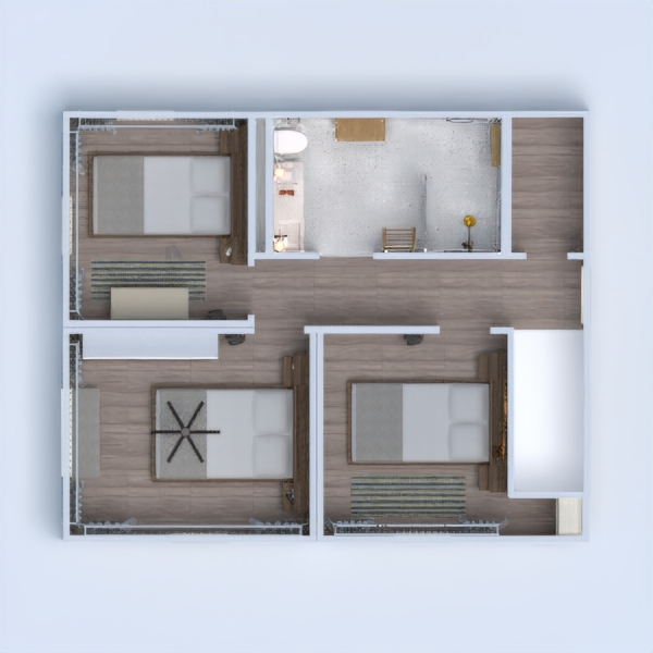 floorplans casa angolo fai-da-te rinnovo 3d
