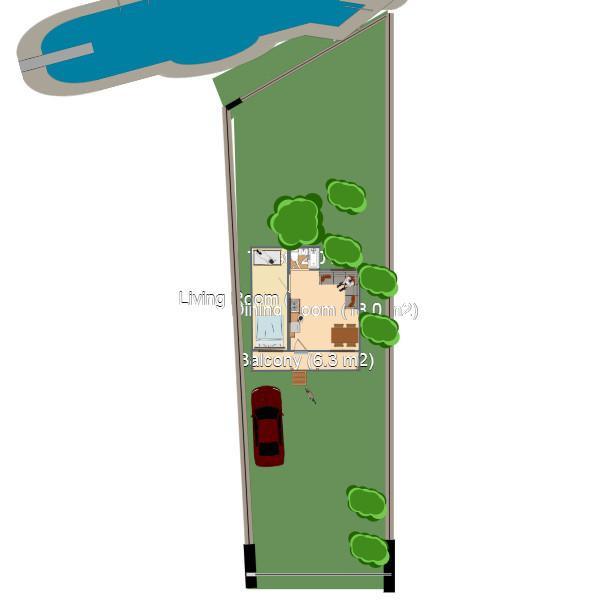 floorplans casa decoración cuarto de baño garaje paisaje 3d